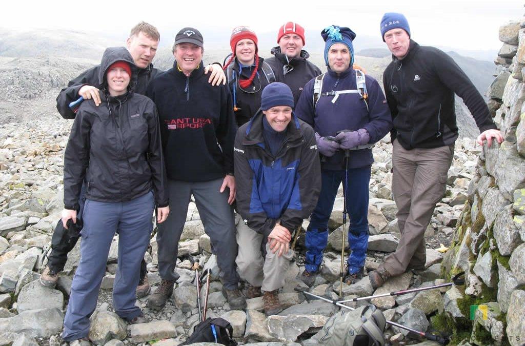3 Peaks Challenge charity event by Austin Cornish of Bury Developments