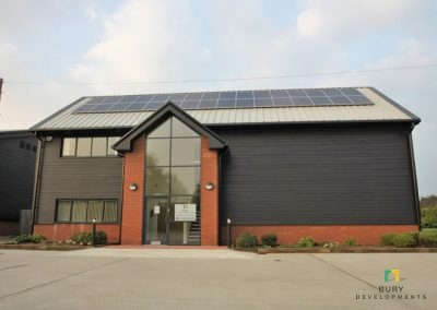 New Head Office for Bury Developments Ltd