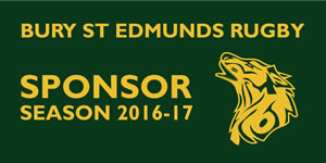 Bury Developments a Bury St Edmunds Rugby Club 2017 sponsor