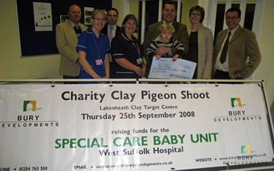 Charity Clay Pigeon Shoot