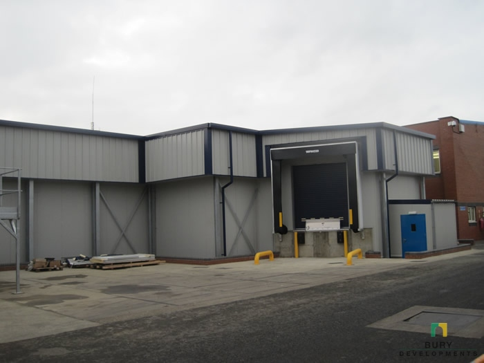 New Sow Line, Watton - food and drink industry project by Bury Developments