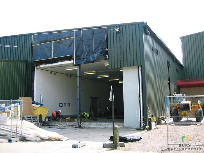 Superchill Facility, Grampian Foods